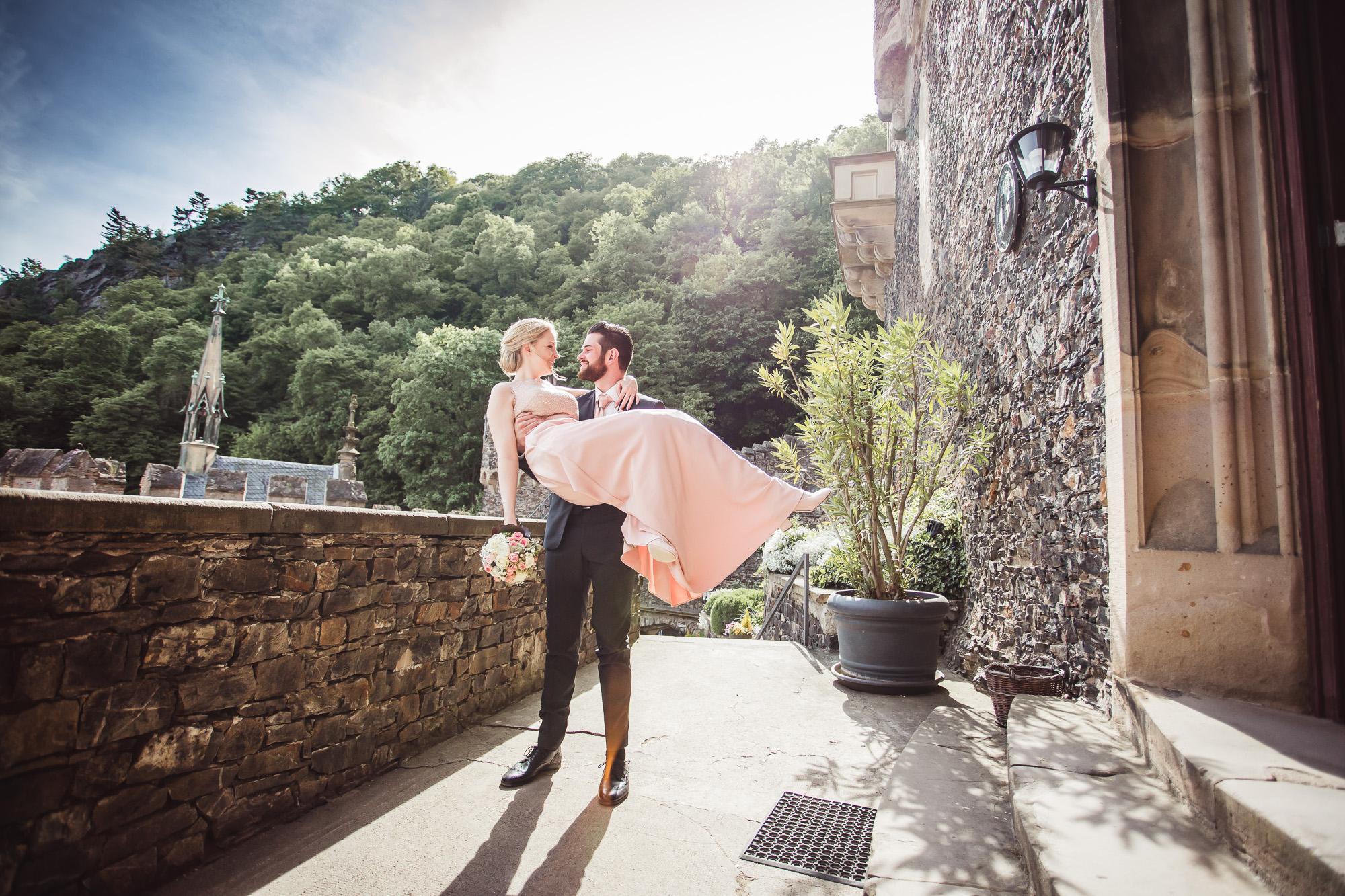 Hochzeitsfotograf auf Burg Rheinstein