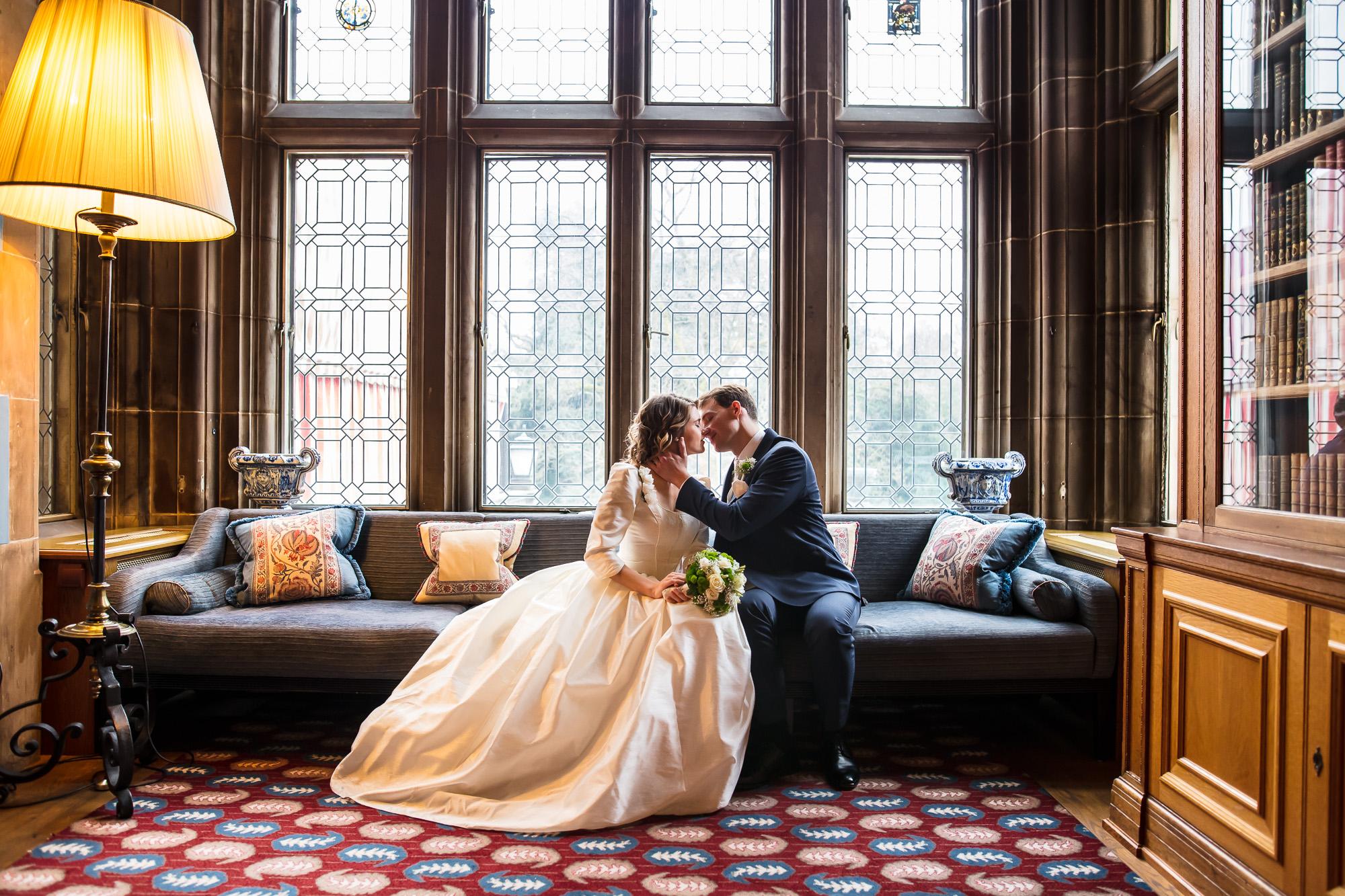 Hochzeitsfotograf im Schloss Kronberg und Villa Borgnis